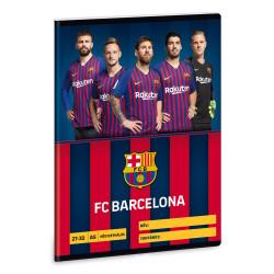 ARS UNA füzet A/5 32 lapos kockás, négyzethálós, Barcelona, 27-32