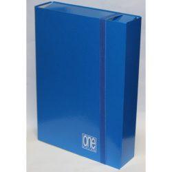 Füzetbox A/4 BLASETTI One kék 7cm