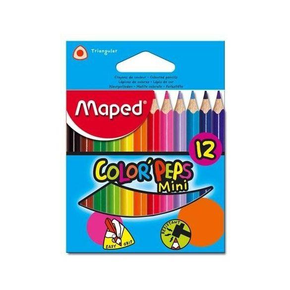 MAPED Color'Peps 12db színesceruza mini