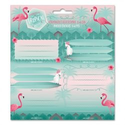 ARS UNA füzetcímke csomagolt, 3x6db Flamingo