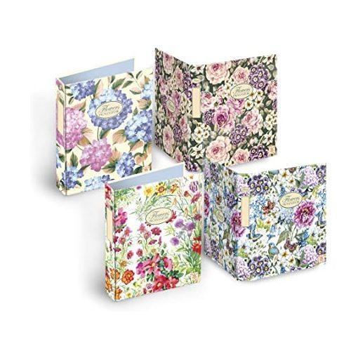 PIGNA Nature Flowers gyűrűskönyv A/4