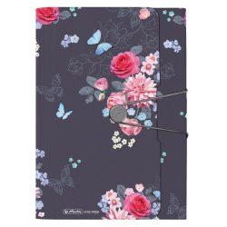HERLITZ rekeszes mappa Ladylike Flowers