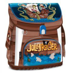 Ars Una kompakt easy mágneszáras iskolatáska Jolly Roger, kalóz