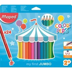 MAPED Color'Peps 24db Jumbo Maxi vastag színesceruza