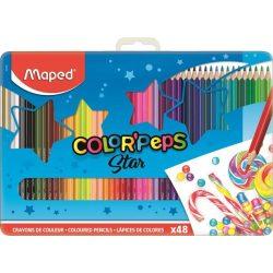 MAPED Color'Peps színesceruza 48db fémdobozban