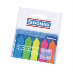 Jelölőcimke DONAU 45x12mm 5x25 cimke/csomag, nyíl
