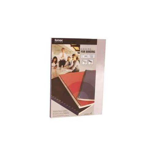 Spirál előlap FORNAX A/4 PVC 150mic 1/100 füstszínű