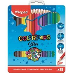 MAPED Color'Peps színesceruza 18db fémdobozban