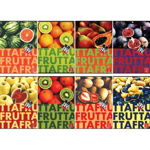PIGNA Fruits füzet A/5 32 lapos sima
